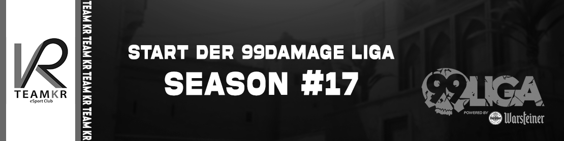 Start der 99Damage Liga Season #17 Logo